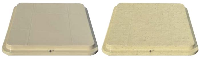 coperchio stile piastrella Castellane o Rosalind