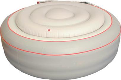 Vasca spa idromassaggio portatile