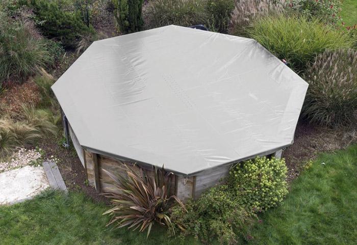 Copertura invernale in PVC 580 gr/m² per piscine BWT my POOL Odyssea, Tropic e Weva Ottagonali