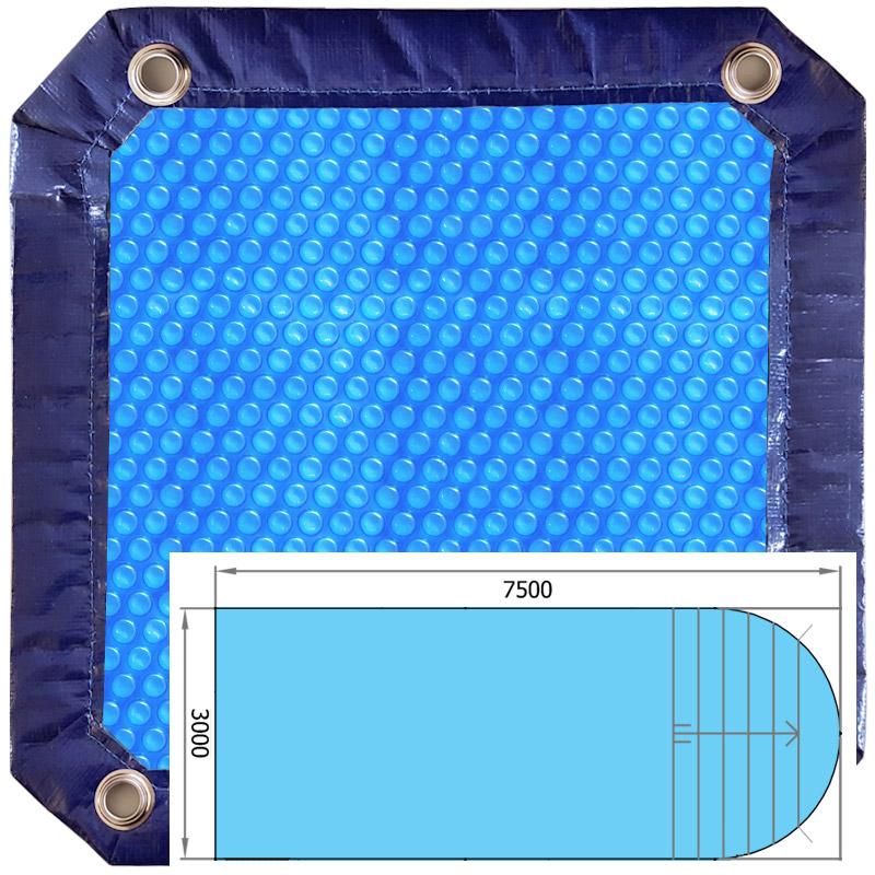 Copertura Isotermica a bolle d'aria BUBBLE ADVANCE Blu 500 µ |