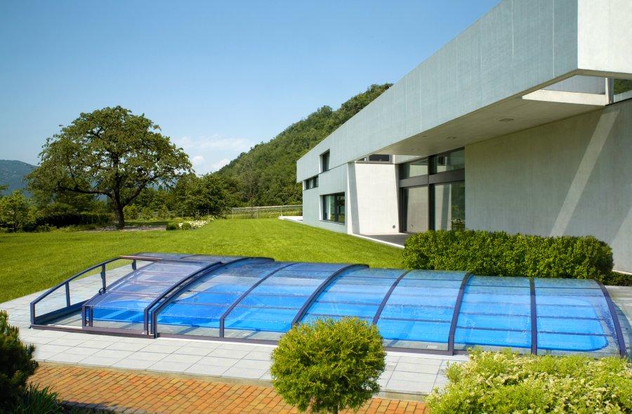 Copertura telescopica piscina Idealcover