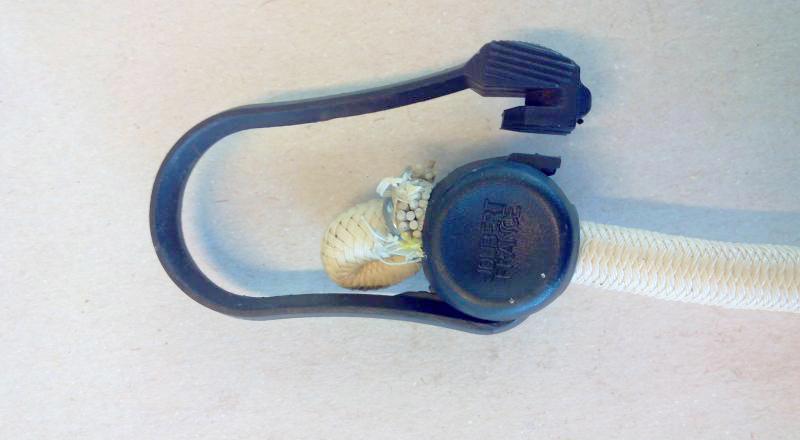 Corda elastica con terminali in plastica - 60cm