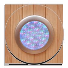 Sauna a raggi infrarossi Daphne con Cromoterapia