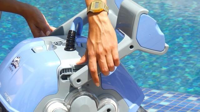 Robot piscina Dolphin Supreme M5 LIBERTY batteria