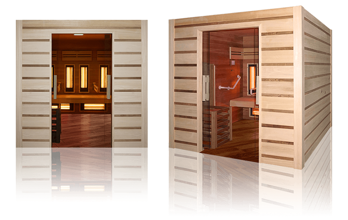 Sauna combinata finlandese infrarossi