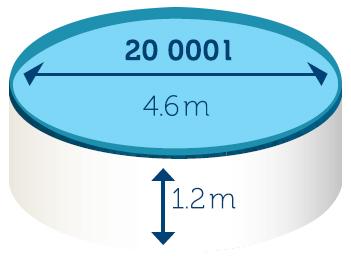 Piscina fuori terra azuro wood 4 60 h 1 20 m for Piscina fuori terra grandi dimensioni