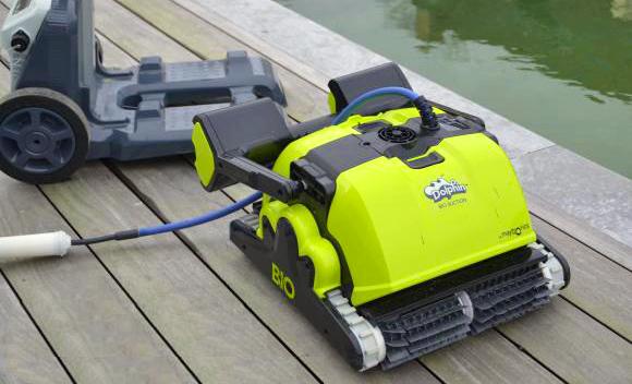 Robot per piscina biologica naturale