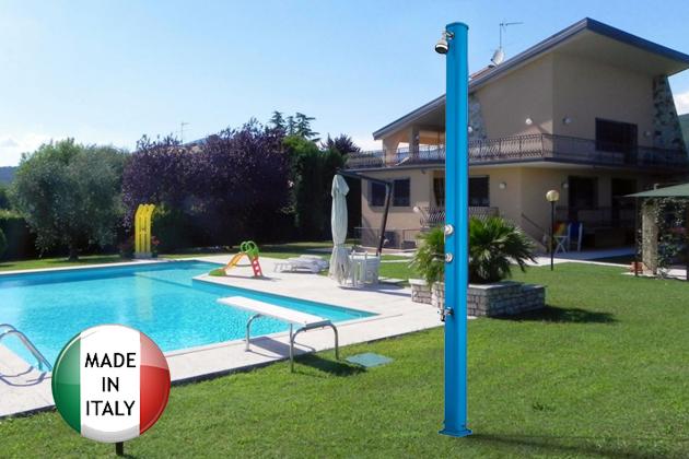 Doccia per piscina jolly s miscelatore temporizzato e for Piscina jolly