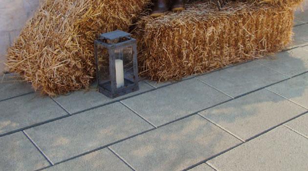 Pavimentazione Doris in pietra ricostruita made in italy grigia