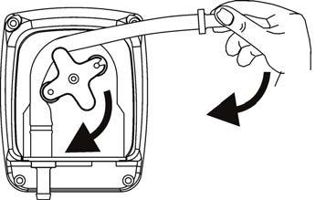 Installazione tubo pompa dosatrice SIMPOOL