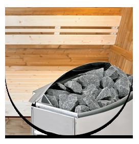 Equipaggiamento Stufa per sauna a vapore