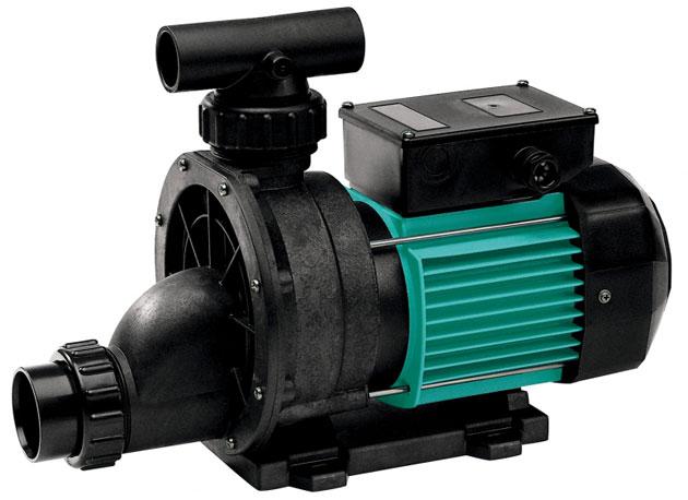 Pompa per idromassaggio TIPER2 125 - 1.25 HP Raccordi 5.7 cm