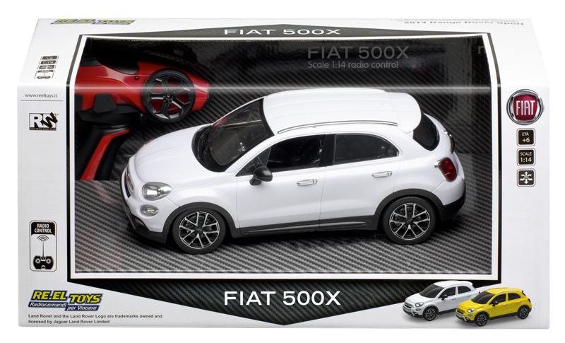 Macchina radiocomandata FIAT 500X scala 1:18