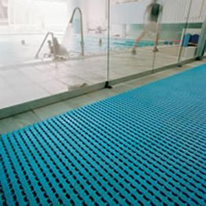 Stuoia in pvc FLOORLINE per piscina e sauna