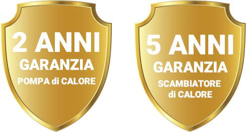 Garanzia Pompa di Calore INVERTER PLUS COMFORT LINE