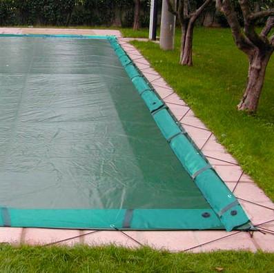 Copertura invernale per piscina combinata