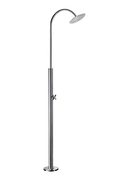 Doccia da esterno GIOVE in acciaio 316L Ama Luxury Shower