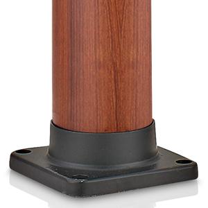Doccia solare in pvc imitazione legno con miscelatore - Doccia da giardino solare ...