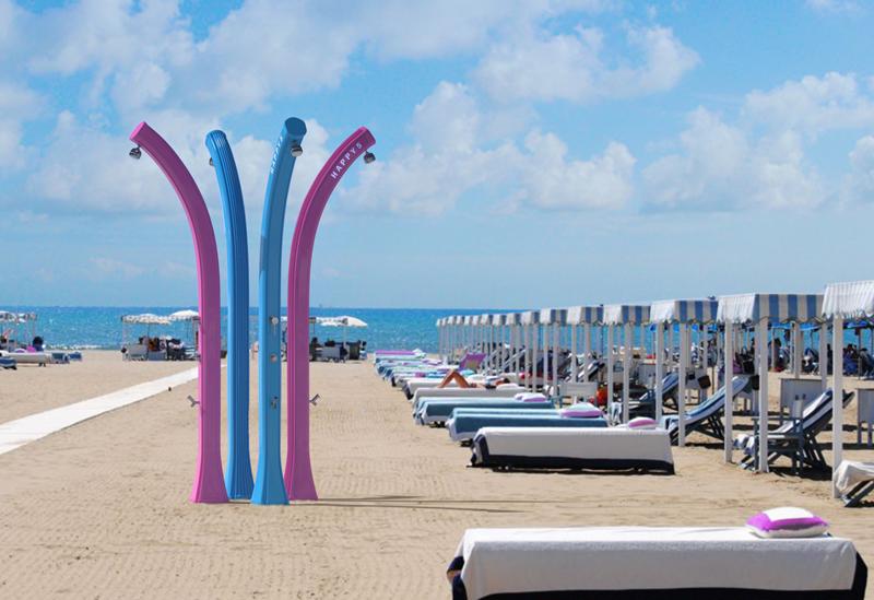 Doccia Solare HAPPY BEACH 28 LITRI