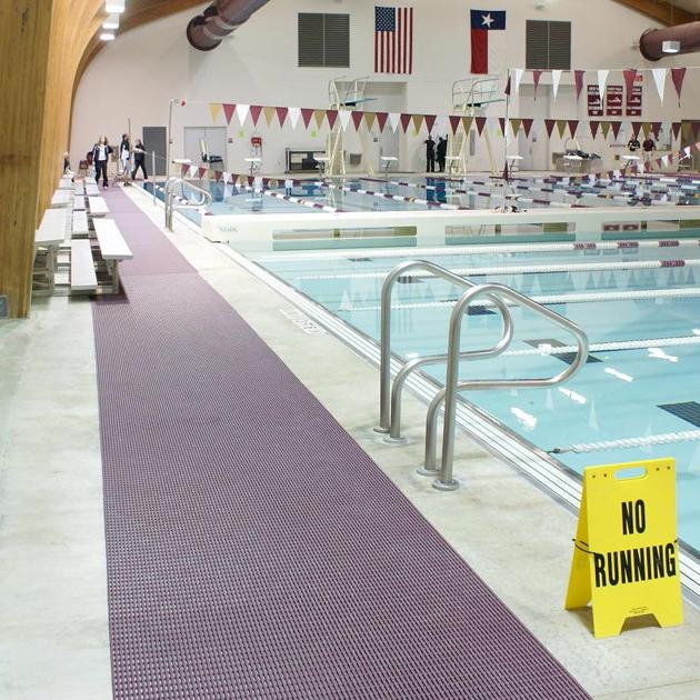 Stuoia in pvc HERONRIB per piscina