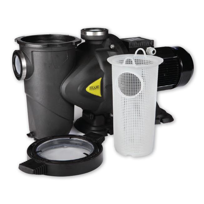 Pompa Piscina per filtrazione DAB Euroswim - 3 HP
