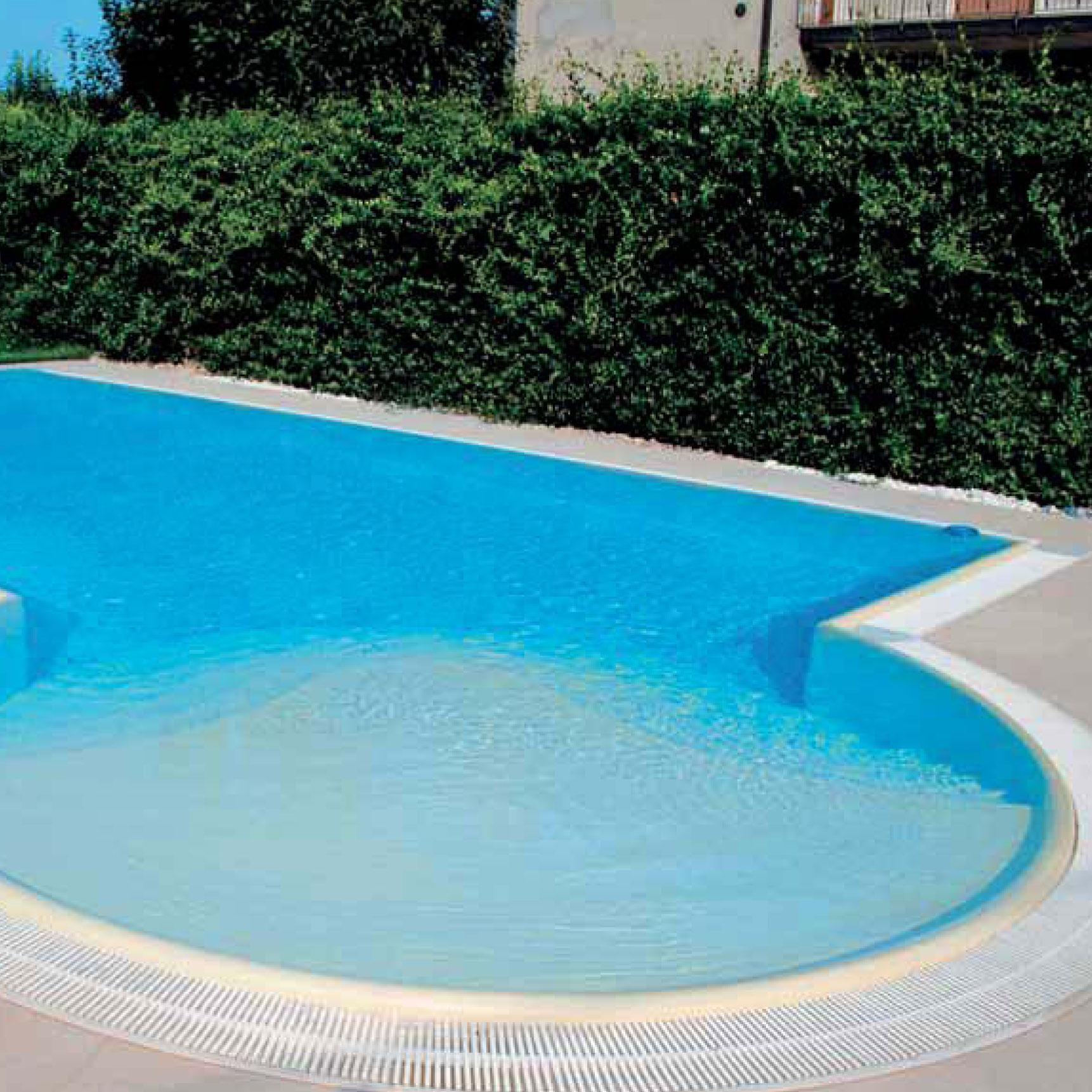 Bordo sfioratore senza toro per piscina for Piscinas toro