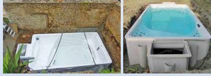 Vasca spa idromassaggio Pretty