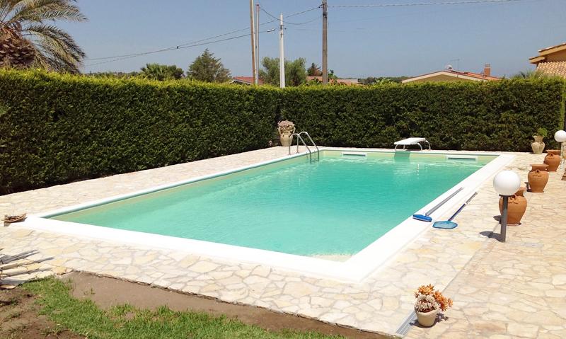 Piscina interrata casseri smooth blok 10 x 5 h 1 50 for Casseri in polistirolo per piscine