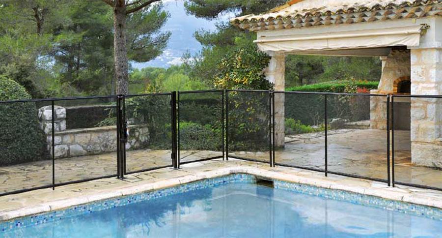 recinzione sicurezza piscine rigida