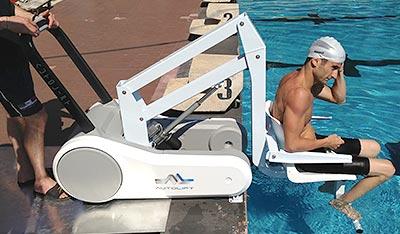 Sollevatori Mobili Per Piscina : Sollevatore mobile disabili i swim per piscina bsvillage