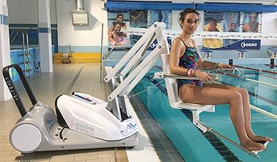 Sollevatore per disabili I-Swim2