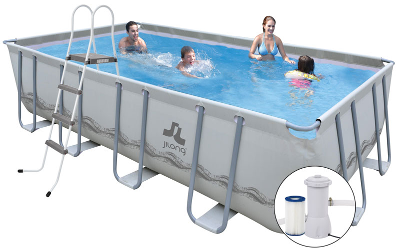 piscina fuori terra mistal frame 549 x 305 h122 cm