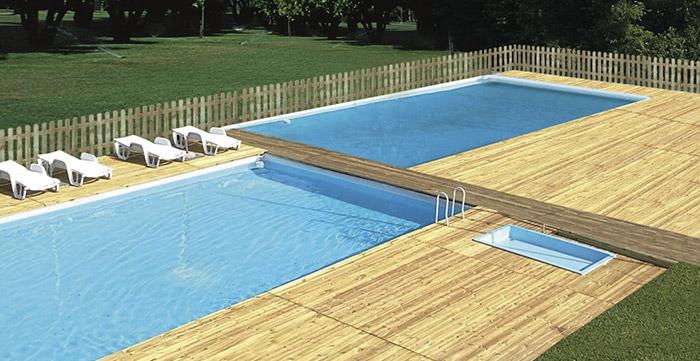 Listone in legno di pino ECO 2,8 x 11,5 cm per pavimentazione - Vendita al m²