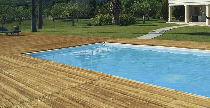 Listone in legno di pino ECO 1,9 x 9,5 cm per pavimentazione - Vendita al m²