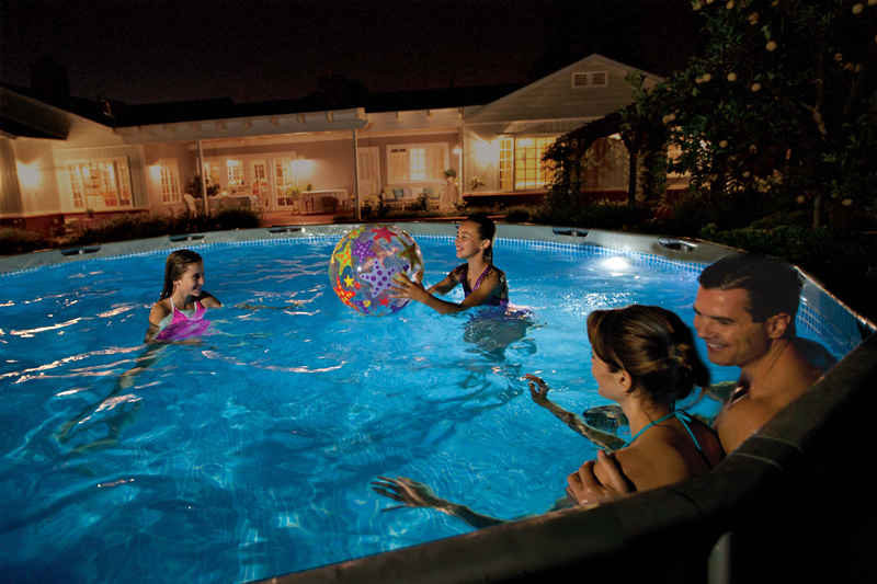 Lampada led magnetica intex per piscine fuori terra bsvillage