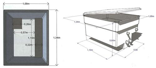 Piscina interrata a sfioro lexi in pannelli d 39 acciaio 10 x - Locale tecnico piscina ...
