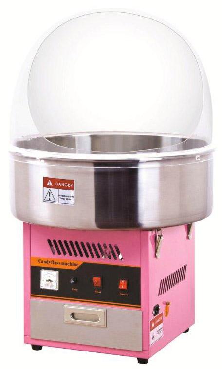 Macchina per zucchero filato professionale con cupola