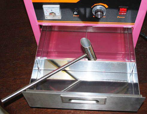 Macchina per zucchero filato professionale con carretto