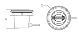 dimensione mini proiettore serie MT-3