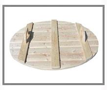 copertura tinozza in legno