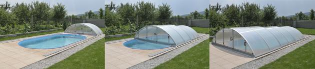 Coperture telescopiche per piscina