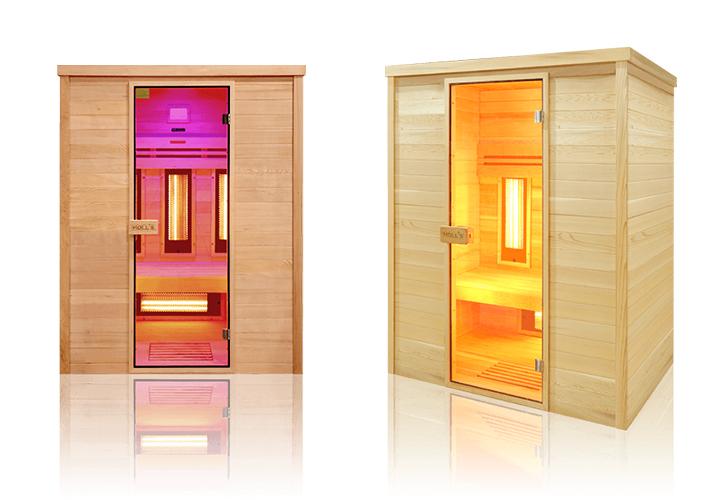 Sauna a raggi infrarossi Karin