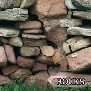 Piscina fuori terra rocks