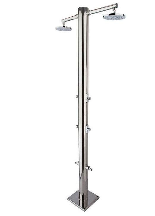 Doccia da esterno NETTUNO in acciaio 316 di AMA Luxury Shower