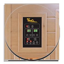 Pannello di controllo digitale per Sauna a infrarossi Daphne