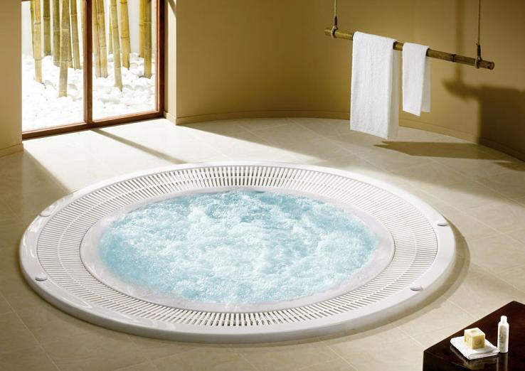 Vasca spa idromassaggio Paradise a sfioro