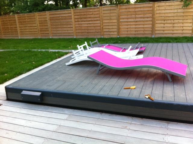 Copertura di sicurezza per piscina POOLDECK a terrazza