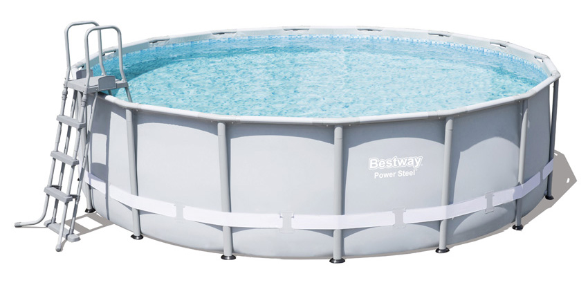 Piscina fuori terra Bestway POWER STEEL FRAME Rotonda