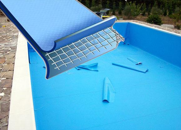 Rivestimento piscina liner pvc