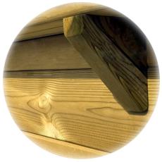 Piscina fuori terra in legno di pino
